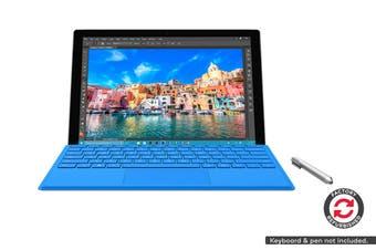 Microsoft Surface Pro 4 (i7, 16GB RAM, 256GB SSD, Platinum) - Microsoft Certified Refurbished