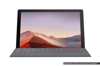 Microsoft Surface Pro 7 (i5, 8GB RAM, 256GB SSD, Black) - AU/NZ Model