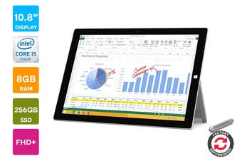 Microsoft Surface Pro 3 (I5, 4GB RAM, 128GB) - Refurbished