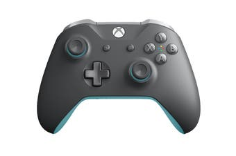 Xbox One Wireless Controller Grey & Blue
