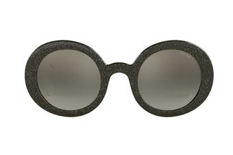 Miu Miu 0MU06US Sunglasses (Grey/Black) - Grey