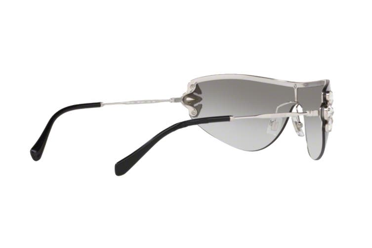 Miu Miu 0MU66US Sunglasses (Grey/Black) - Grey