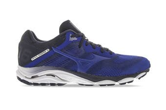 Mizuno Men's Wave Inspire 16 Running Shoe (True Blue/Navy Blazer, Size 12 UK)