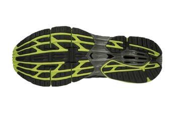 Mizuno Men's WAVE PROPHECY 7 Running Shoe (Black/Lime Punch/Oark Shadow)