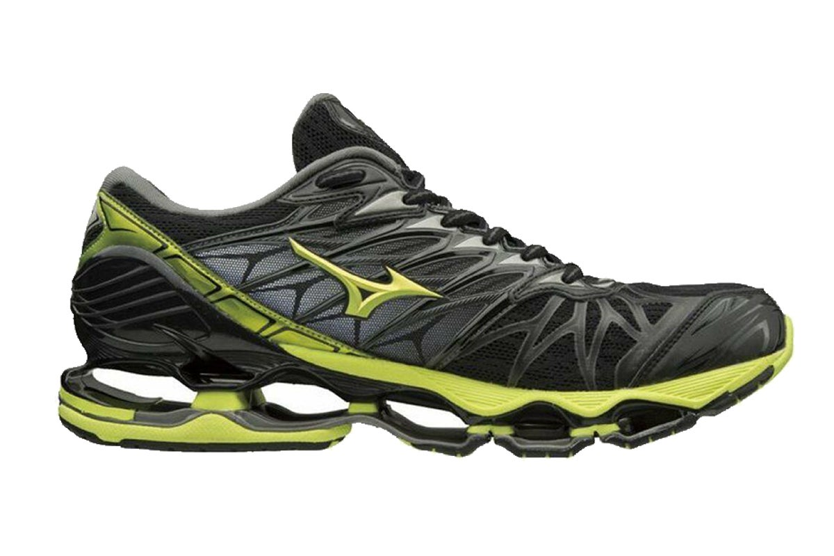 mens mizuno running shoes size 9.5 eu woman for everything black