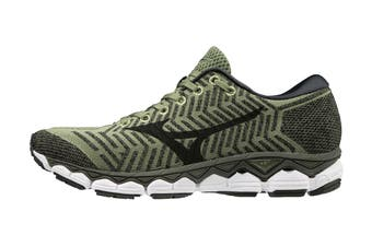 Mizuno Men's Wave Knit S1 Running Shoe (Green/Black)