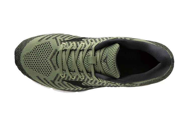 Mizuno Men's Wave Knit S1 Running Shoe (Green/Black, Size 9.5 US)