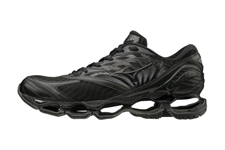 Mizuno Men's Prophecy 8 Running Shoe (Black/Black Dark Shadow, Size 7.5 US)