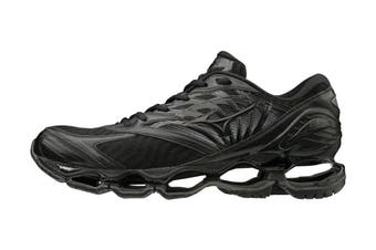 Mizuno Men's Prophecy 8 Running Shoe (Black/Black Dark Shadow, Size 8.5 US)