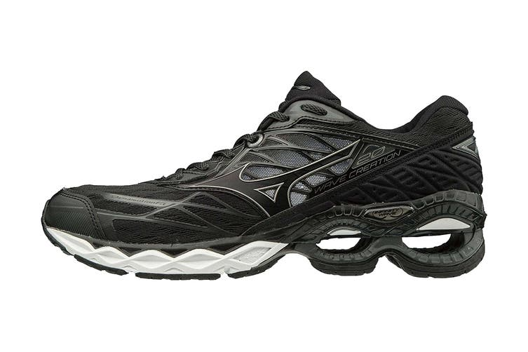 Mizuno Men's Wave Creation 20 Running Shoe (Black, Size 9 US)