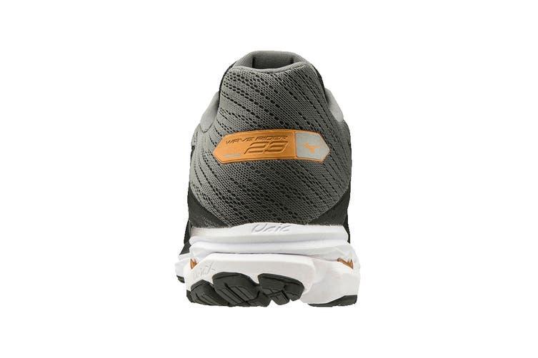 Mizuno Men's Wave Rider 23 Running Shoe (Black/Dark Shadow/Gray, Size 11 UK)