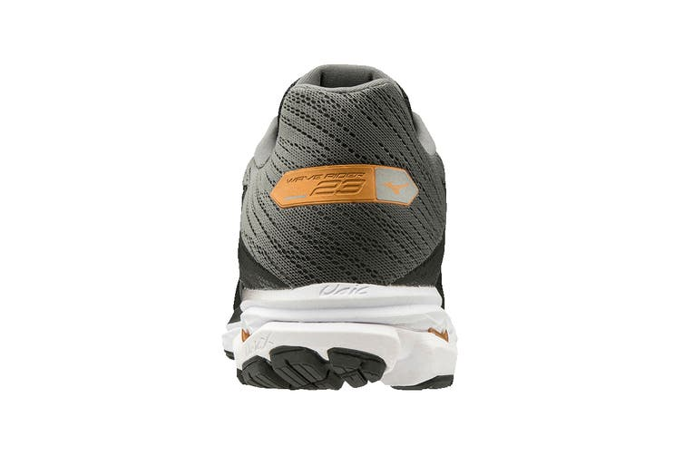Mizuno Men's Wave Rider 23 Running Shoe (Black/Dark Shadow/Gray, Size 12 UK)