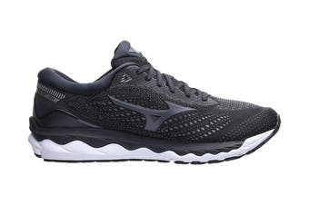 Mizuno Men's Wave Sky 3 Running Shoe (Black / Dark Shadow, Size 13 US)
