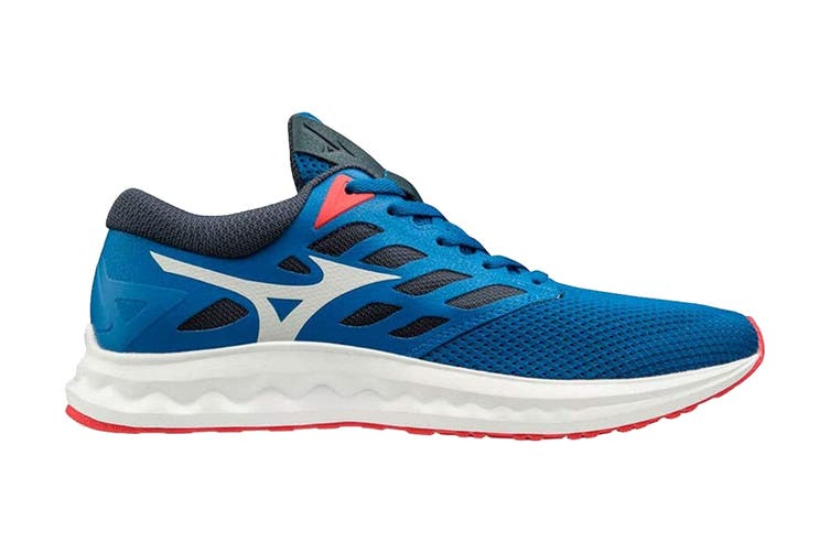 Mizuno Men's Wave Polaris Running Shoe (Blue, Size 8.5 US)