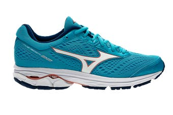 Mizuno Women's WAVE RIDER 22 Running Shoe (Diva Blue, Size 6.5 US)