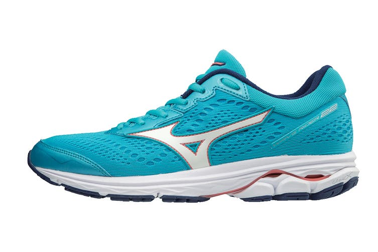 Mizuno Women's WAVE RIDER 22 Running Shoe (Diva Blue, Size 7 US)