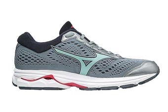 Mizuno Women's WAVE RIDER 22 Running Shoe (Tradewinds/Teaberry)
