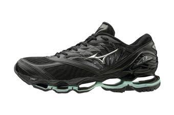 Mizuno Women's Prophecy 8 Running Shoe (Black/Silver)