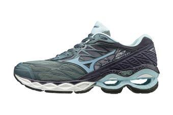 Mizuno Women's Wave Creation 20 Running Shoe (Grey Light/Blue)