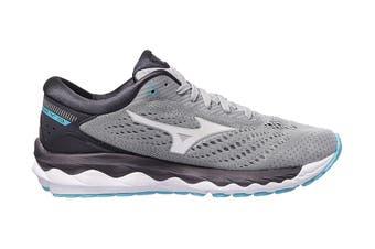 Mizuno Women's Wave Sky 3 Running Shoe (Vapor Blue / White, Size 10.5 US)