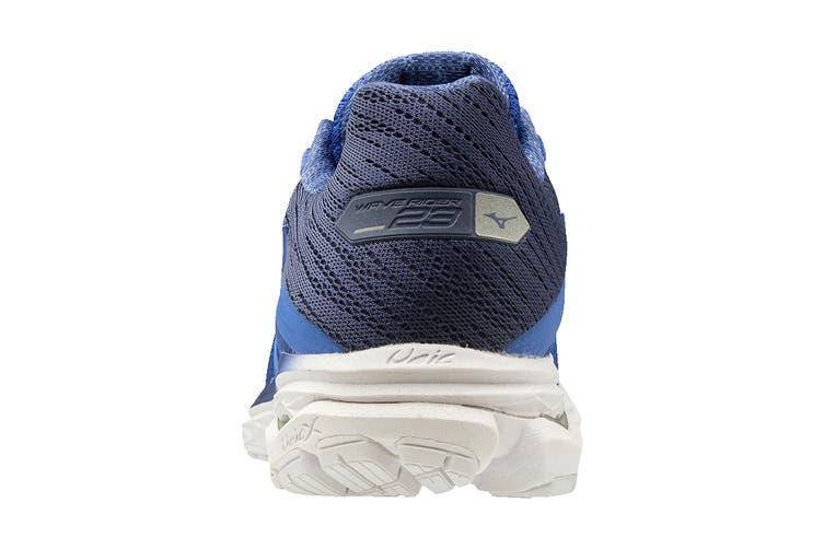 Mizuno Women's Wave Rider 23 Running Shoe (Dazzling Blue/Ultramarine/Medieval Blue, Size 4 UK)