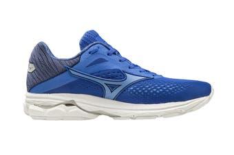 Mizuno Women's Wave Rider 23 Running Shoe (Dazzling Blue/Ultramarine/Medieval Blue, Size 5.5 UK)