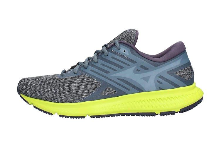 Mizuno Men's Ezrun LX 2 Running Shoe (Graphite/White/Lime/Punch, Size 9.5 US)
