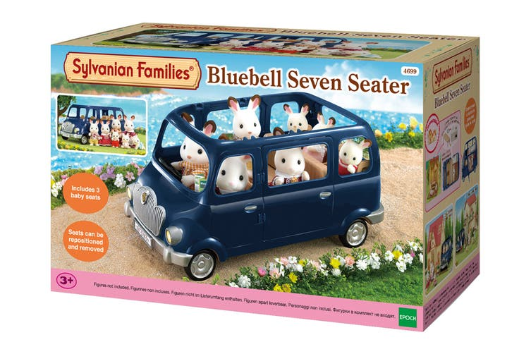 Sylvanian Families Bluebell Seven Seater Van
