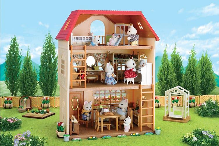 Sylvanian Families Homes - Cedar Terrace House