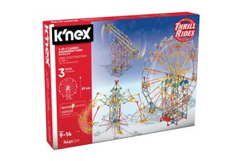 K'NEX 3-in-1 Classic Amusement Park
