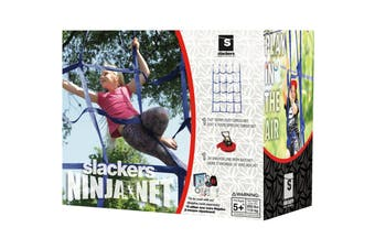 Slackers Ninja Net for Obstacle Sports and Outdoors