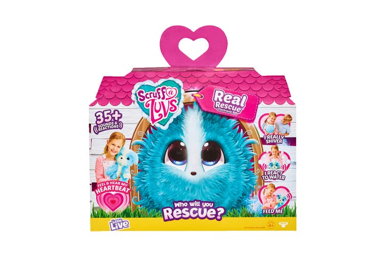 Little Live Scruff-A-Luvs Real Rescue Electronic Pet S3