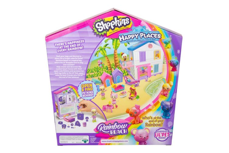 Happy Places Shopkins Rainbow Beach Surprise Me Pack S5 (Assorted)