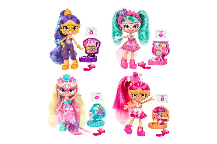 Shopkins Shoppies Lil' Secrets Masquarade Doll S1 W1 (Assorted)