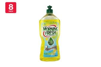 Morning Fresh 900ml Dishwashing Liquid Antibacterial Lemon Super Concentrate (8 Pack)