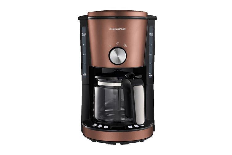 Morphy Richards Evoke Filtered Coffee Machine - Bronze (162523)