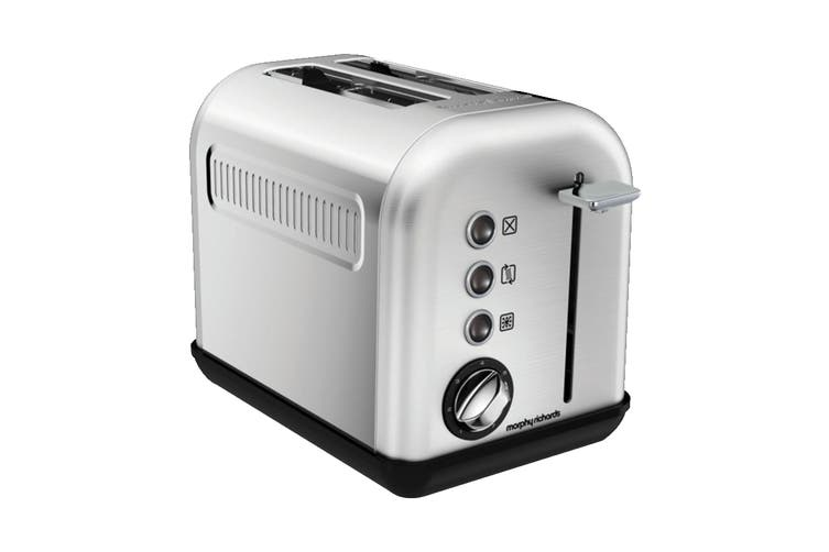 Morphy Richards Equip 2-Slice Toaster - Stainless Steel (222010)