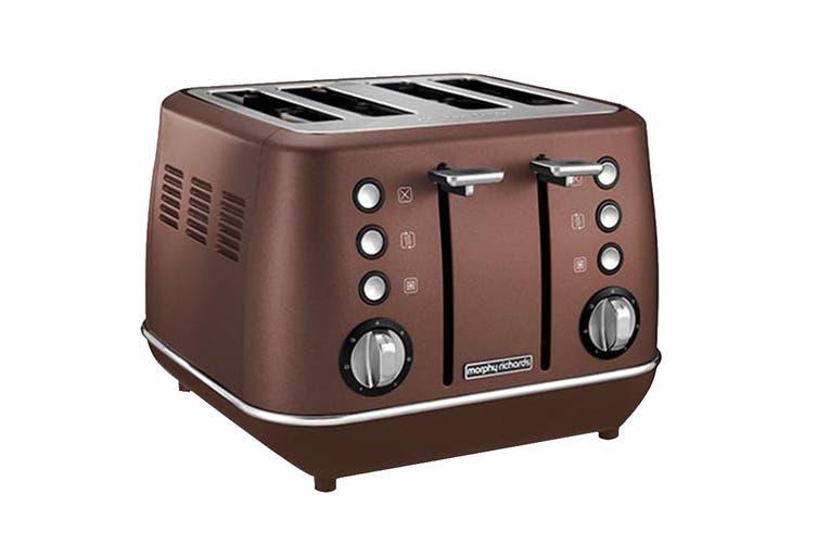 Morphy Richards Evoke 4-Slice Toaster - Bronze (240101)