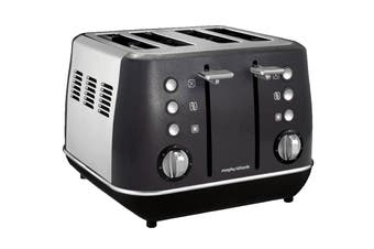Morphy Richards Evoke 4-Slice Toaster - Black (240105)