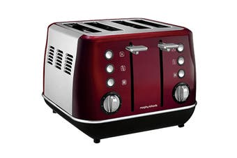 Morphy Richards Evoke 4-Slice Toaster - Red (240108)