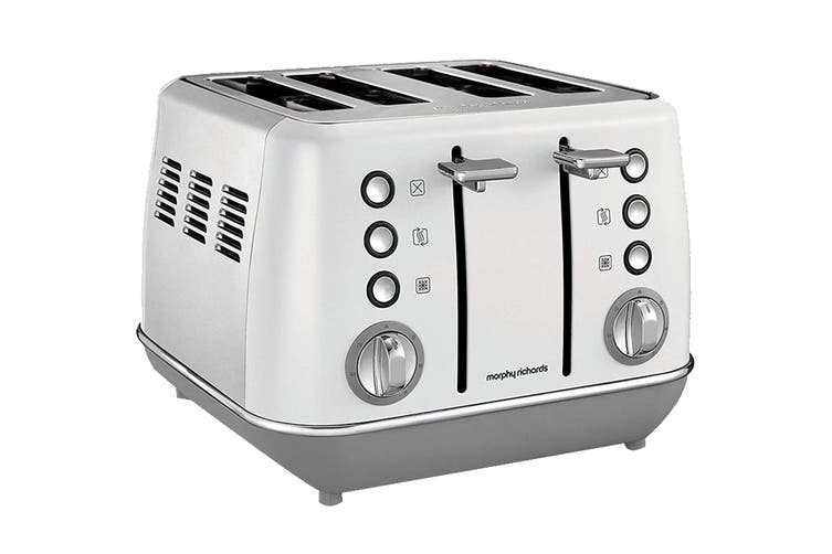 Morphy Richards Evoke 4-Slice Toaster - White (240109)