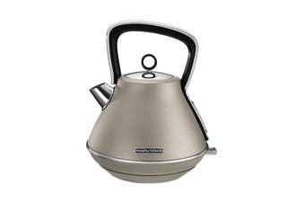 Morphy Richards Evoke 1.5L Pyramid Kettle - Platinum (100103)