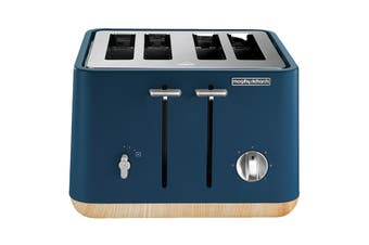 Morphy Richards Aspect 4 Slice Toaster - Deep Blue (240013)