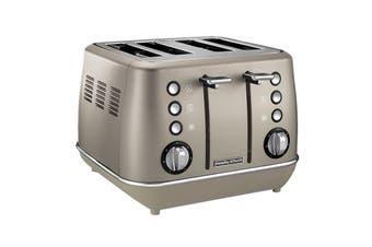 Morphy Richards Evoke 4 Slice Toaster - Platinum (240103)