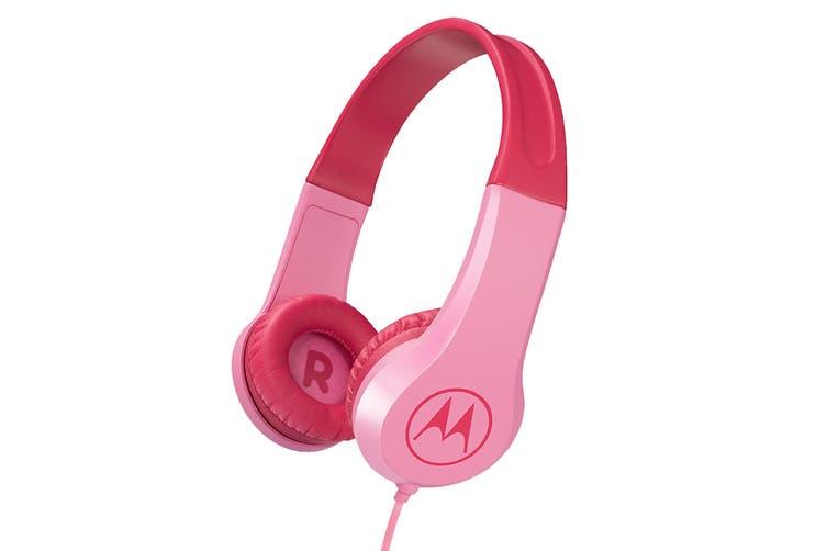 Motorola Kids Headphones (Pink)