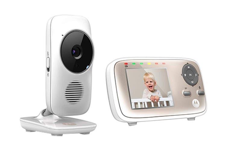 "Motorola 2.8"" Wifi Baby Video Monitor (MBP667S)"