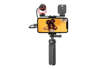 Moza Vlog Kit with Tripod, LED Light & Video Microphone
