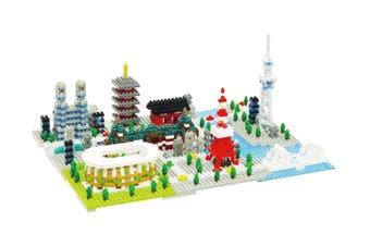 Nanoblock Tokyo Deluxe Building Set