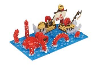 Nanoblock Kraken King of the Sea Deluxe Building Set