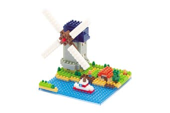 Nanoblock Molen Kinderdijk-Elshout Windmill